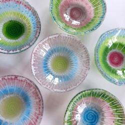 szkło,fusing,miseczki - Ceramika i szkło - Wyposażenie wnętrz