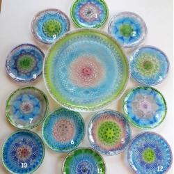 szkło,fusing,talerzyki - Ceramika i szkło - Wyposażenie wnętrz