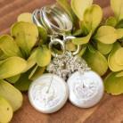 Kolczyki kolczyki,perły,białe,eleganckie,ślub