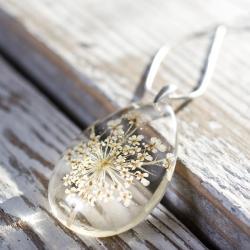 biżuteria z żywicy,naszyjnik z żywicy,handmade - Naszyjniki - Biżuteria