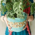 Ceramika i szkło ceramika,osłonka,doniczka