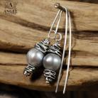 Kolczyki kolczyki z pereł,biżuteria z perłami