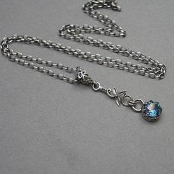 delikatny,koronkowy - Naszyjniki - Biżuteria