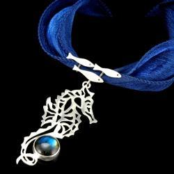 wisior z konikiem morskim,Marina Noske - Wisiory - Biżuteria