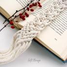 Zakładki do książek pachnąca zakładka do książki,cynamon,makrama