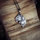 Wisiory srebrny tygrys wisior,biżuteria z tygrysem