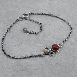 delikatna,minimalistyczna,naturalna,stonowana - Bransoletki - Biżuteria