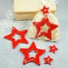 Ceramika i szkło gwiazda,zawieszka,ozdoba świąteczna