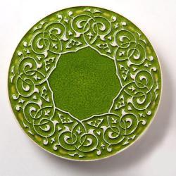 podstawka,talerzyk,pod kubek,dekoracja - Ceramika i szkło - Wyposażenie wnętrz