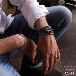 biżuteria męska,bransolety z koralików - Dla mężczyzn - Biżuteria