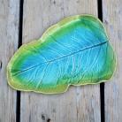 Ceramika i szkło ceramika,patera,talerz,liść,liść ceramiczny