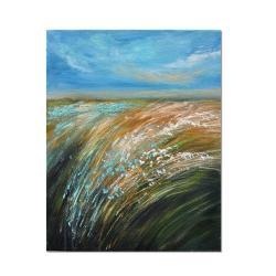 obraz łąka,obraz pejzaż - Obrazy - Wyposażenie wnętrz