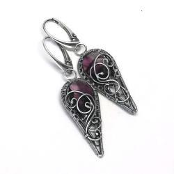 kolczyki z kryształami Amethyst Blend - Kolczyki - Biżuteria