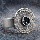 Pierścionki regulowany pierścionek w stylu tribal glamour
