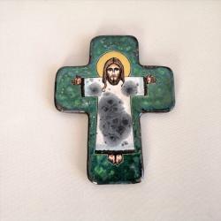 Beata Kmieć,krzyż,ikona ceramiczna - Ceramika i szkło - Wyposażenie wnętrz