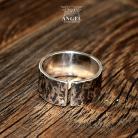 Pierścionki obrączka,biżuteria męska,pęknięty pierścień