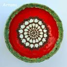Ceramika i szkło misa ceramika recznie lepiona