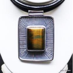 biżuteria artystyczna,wisiory,naszyjniki,kwarc - Naszyjniki - Biżuteria