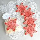 Ceramika i szkło gwiazdka,ozdoby choinkowe,choinka,śnieżynka