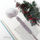 Zakładki do książek zakładka do książki,prezent na Święta,makrama