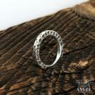 Pierścionki personalizowana obrączka,męska biżuteria