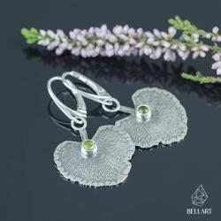 roślinne,naturalne,eleganckie,liście - Kolczyki - Biżuteria