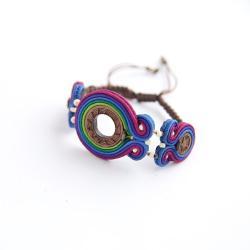 bransoletka boho,bransoletka w stylu etnicznym - Bransoletki - Biżuteria