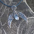 Wisiory lunula,słowiański,księżyc,amulet,księżycowy