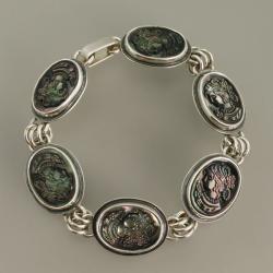 bransoletka z kameami - Bransoletki - Biżuteria