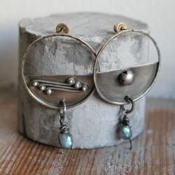kolczyki srebro filigran - Kolczyki - Biżuteria