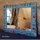 Ceramika i szkło mozaika ceramiczna lustro ceramika
