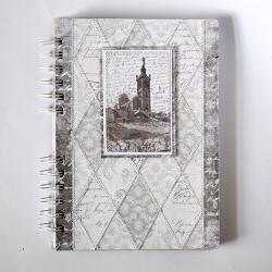 notes,pamiętik,Francja,Marsylia,patchwork - Notesy - Akcesoria
