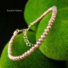 Bransoletki nehesi,bransoleta,srebrny,perłami,srebra