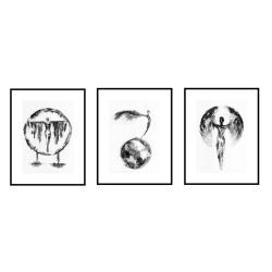 plakat autorski - Ilustracje, rysunki, fotografia - Wyposażenie wnętrz