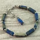 Bransoletki bransoletka z lapis lazuli,biżuteria z lapis lazu