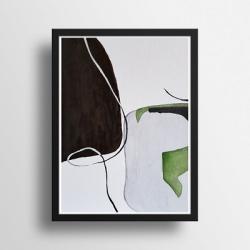 akwarela,abstrakcja - Obrazy - Wyposażenie wnętrz