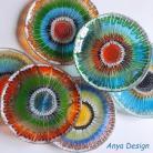 Ceramika i szkło szkło,fusing,talerzyki