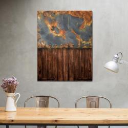 obraz loft,obraz industialny,loftowy,rdza,farby - Obrazy - Wyposażenie wnętrz