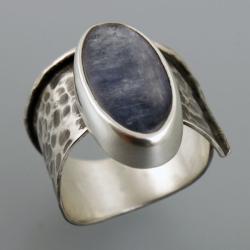 pierścionek z kyanitem - Pierścionki - Biżuteria