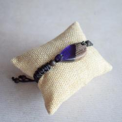 bransoletka,bransoletka regulowana,makrama - Bransoletki - Biżuteria