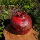 Ceramika i szkło granat,owoc,owoc ceramiczny,raku,ceramika raku