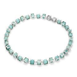 srebrny naszyjnik - Naszyjniki - Biżuteria