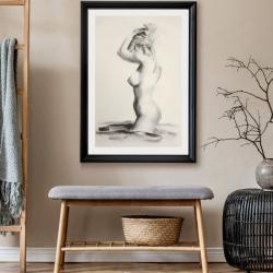 akt,kobieta,nagość,zmysłowość - Ilustracje, rysunki, fotografia - Wyposażenie wnętrz