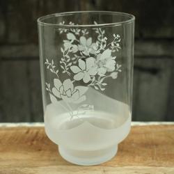 kwiaty,piaskowane,mrożone - Ceramika i szkło - Wyposażenie wnętrz