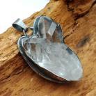 Wisiory kwarc,blask,srebrny,minerał,przejrzysty,kryształ,