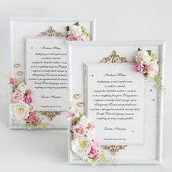 podziękowanie,ślub,rodzice,chrzestni,wesele - Kartki okolicznościowe - Akcesoria