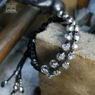 Dla mężczyzn srebrne czaszki,biżuteria dla mężczyzn,prezent
