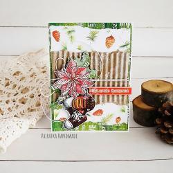 Boże Narodzenie,kartka świąteczna,święta - Kartki okolicznościowe - Akcesoria