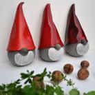 Ceramika i szkło Skrzat świąteczny,gnom,krasnal,mikołaj