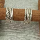 Pierścionki obrączka ze srebra,obrączka z wzorem,
